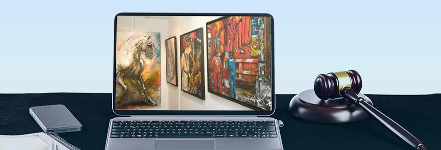 galeries d art en ligne